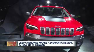 Jeep updates Cherokee compact SUV to compete in hot market - Video