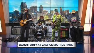 Ras Kente to perform at Campus Martius beach party - Video