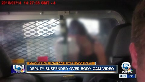 Indian River County deputy suspended over body camera footage