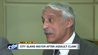 City slams Stow mayor after assault claim - Video