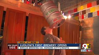 Bircus: Brewery/circus concept comes to Ludlow - Video