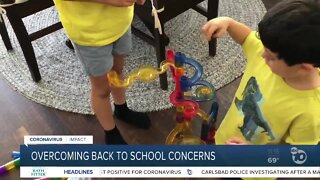 Overcoming back to school concerns