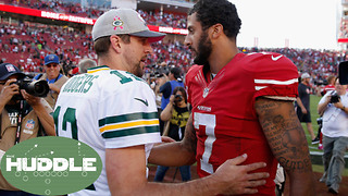 Colin Kaepernick to the Packers? -The Huddle - Video