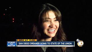 San Diego Dreamer going to State of The Union - Video