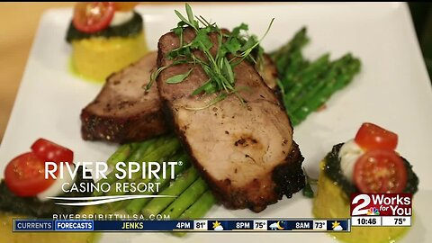 In the Kitchen with Fireside Grill: Balsamic Roasted Pork Loin