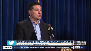 Dozens of known MS-13 gang members living in Las Vegas - Video