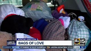East Valley group changing children's lives with bags of love - Video