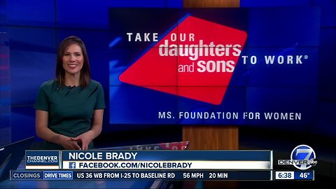 Parents can use Take Our Daughters and Sons to Work Day to show children possible job opportunities