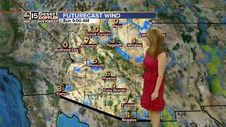 Temperatures expected to cool down slightly next week - Video