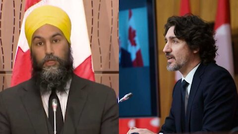 Jagmeet Singh Wants Trudeau To Declare A Federal Emergency ASAP To 'Help Ontario'