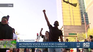 Activists voice ideas for change