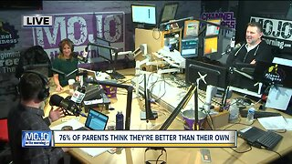 Mojo in the Morning: 76% of parents think they're better