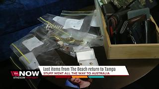 Lost items from The Beach return to Tampa - Video