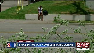 Tulsa Police Department changes focus of impact team as homeless population grows - Video