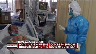 Helping Each Other: Doctors helping doctors, helping to protect those who protect us