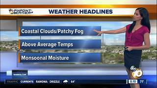 10News Pinpoint Weather for Sat. July 28, 2018 - Video