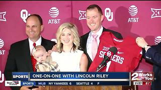 Big Al One-on-One with Lincoln Riley at Big 12 Media Days - Video