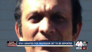 Stay granted for KS professor facing deportation - Video