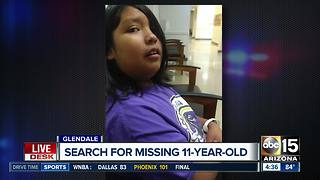 Glendale 11-year-old boy reported missing