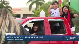 Immokalee community members celebrate graduates with parade
