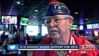 DJ's Dugout shows support for veterans - Video