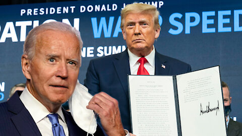 Biden Claims We He Didn't Have Vaccine When He entered Office, Infers Minorities Can't Use Internet