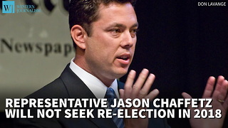 Rep. Jason Chaffetz Will Not Seek Re-Election In 2018 - Video