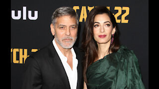 Amal Clooney jokes about Meryl Streep's 'marriage' to George
