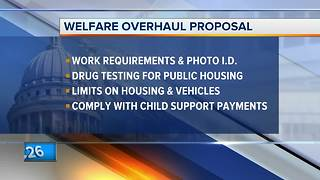 Walker proposes Wisconsin welfare overhaul package - Video