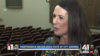 Independence Mayor Eileen Weir gives State of the City address - Video