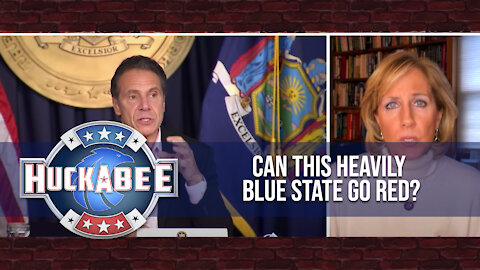 Can This DEEP BLUE State Go RED? | NY Rep Claudia Tenney | Huckabee