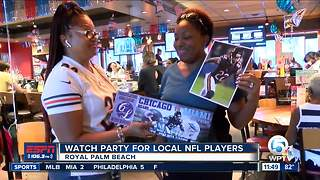 Cre'von LeBlanc Foundation Hosts Watch Party - Video
