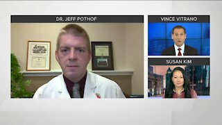 Talking vaccine, COVID-19 numbers with UW doctor
