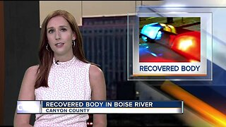Canyon County Sheriff's Office investigating body found in Boise River