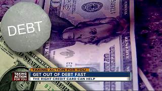 Americans have hit a new high when it comes to credit card debt - Video