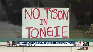 Leavenworth County pulls back on support for Tyson plant - Video