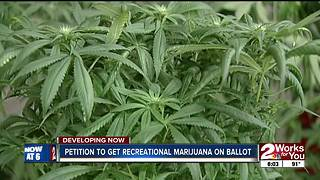 Petition to get recreational marijuana on ballot - Video