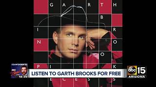 Here's how to get Garth Brooks' albums for FREE - Video