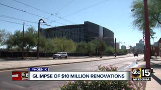 Massive renovations underway at Burton Barr Library in Phoenix - Video