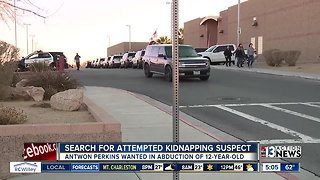 Search for attempted kidnapping suspect