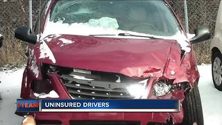 Uninsured Wisconsin drivers leave crash victims with the bill - Video