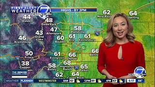From spring-like weather to snow; changes coming to Colorado this weekend! - Video