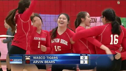 Arvin girls volleyball claims first outright league title