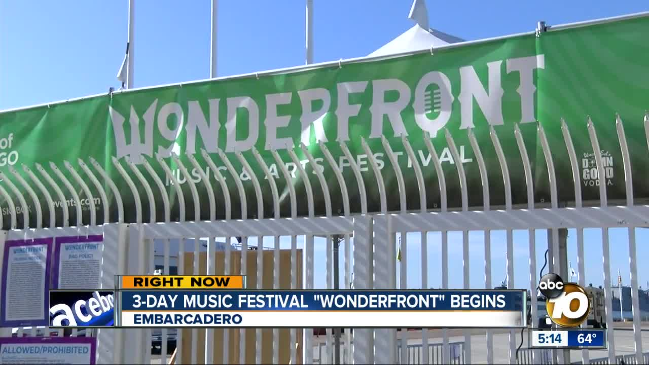 Wonderfront music festival kicks off in Downtown San Diego