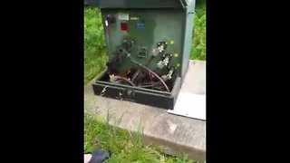 Rattlesnakes Take a Nap in Transformer Box - Video