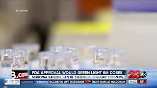 Moderna awaiting green light from FDA