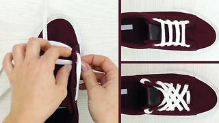 6 cool ways to tie your shoelaces and never have dull shoes - Video