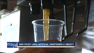 New study suggests artificial sweeteners may cause weight gain - Video