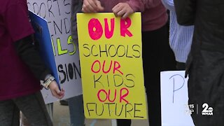 A push to reopen schools in Harford County