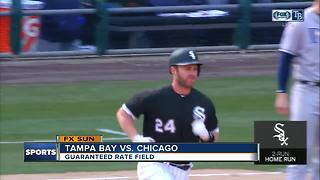 Matt Davidson hits late home run, Chicago White Sox top Tampa Bay Rays 2-1 for 1st home win